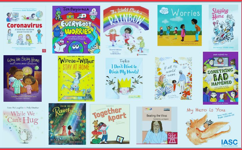 Books to help children stay safe, calm, connected and hopeful.