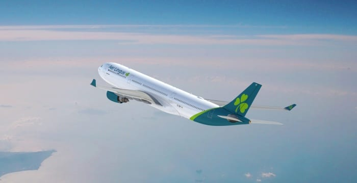 Aer Lingus to add four new transatlantic routes from Manchester