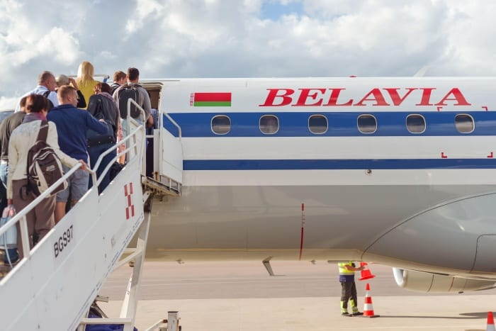 Government bans Belarusian airlines from UK airspace