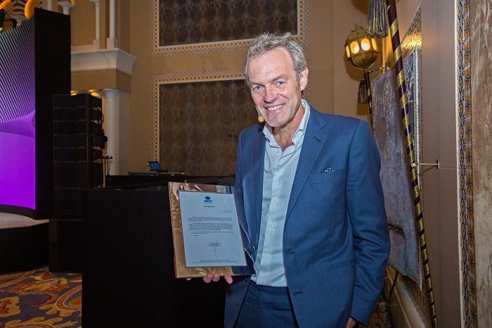 AHIC 2021: Worsley recognised for contribution to tourism