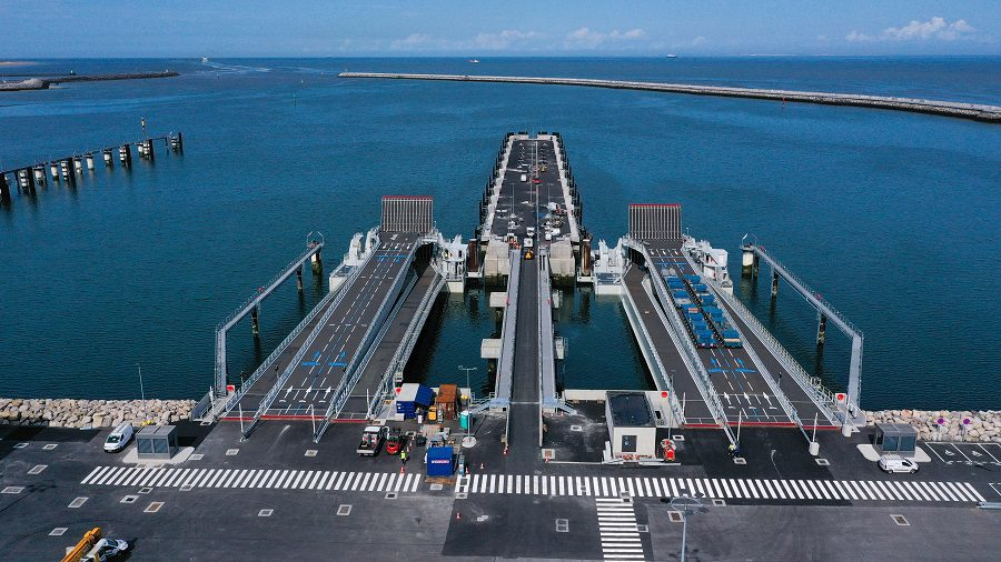 Newly revamped Port of Calais opens in France