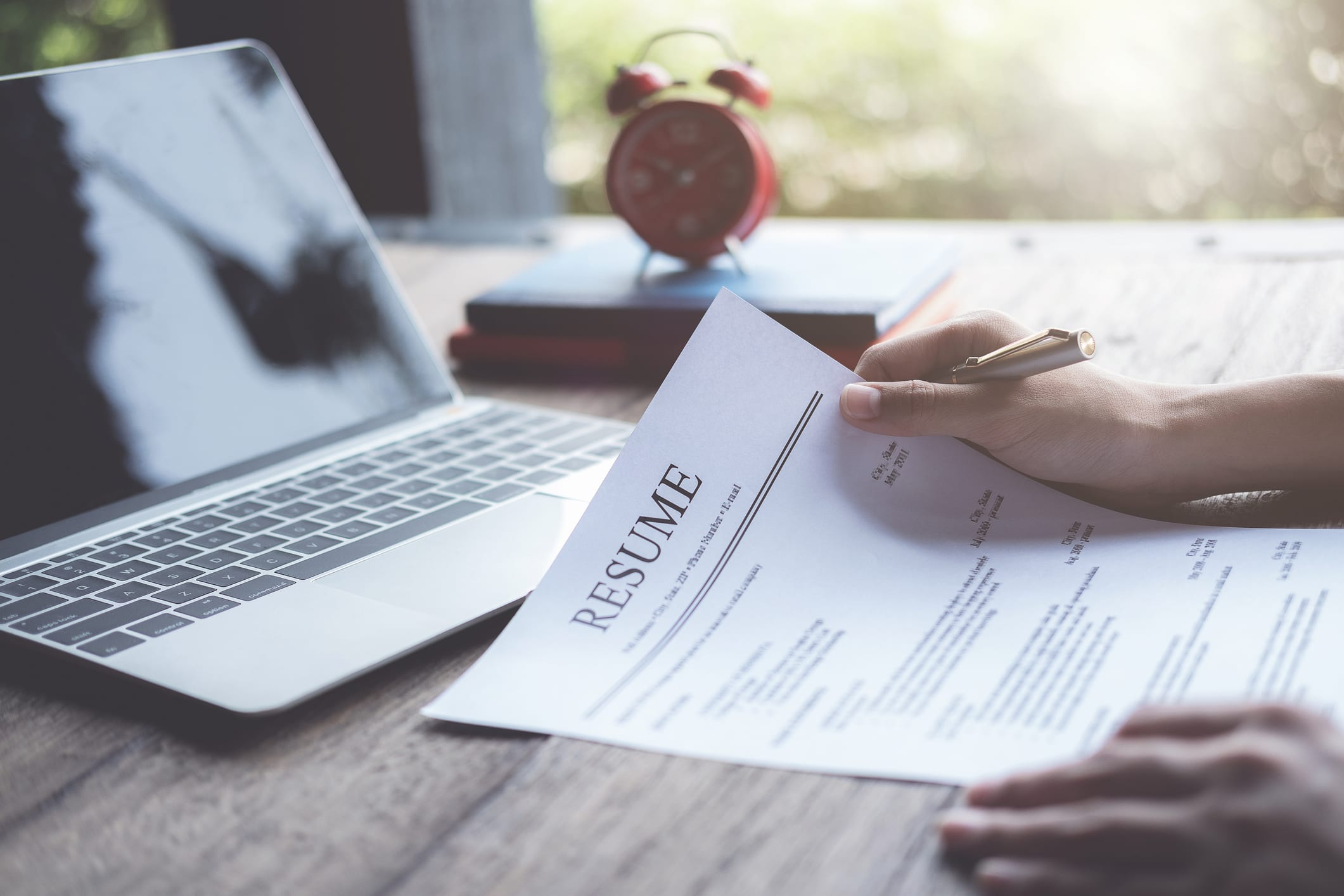 Matching the right CV to your job role