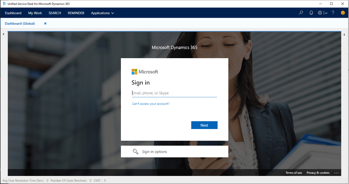 Setting up SSO Single Sign On in Unified Service Desk 4.2